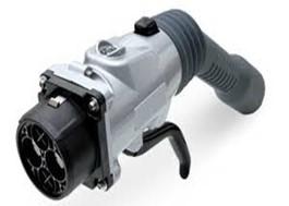 Conector Tipo 4 o CHAdeMO para carga de coches eléctricos.