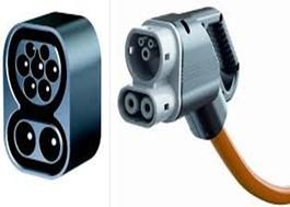 Conector Combo 2 o CSS para carga de coches eléctricos.