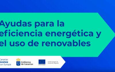 Subvención en energías renovables para Canarias