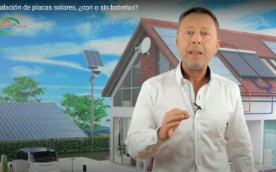 Baterías para paneles solares, ¿sí o no?
