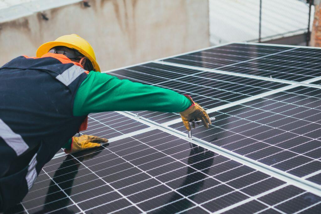 inclinación y orientación de los paneles solares